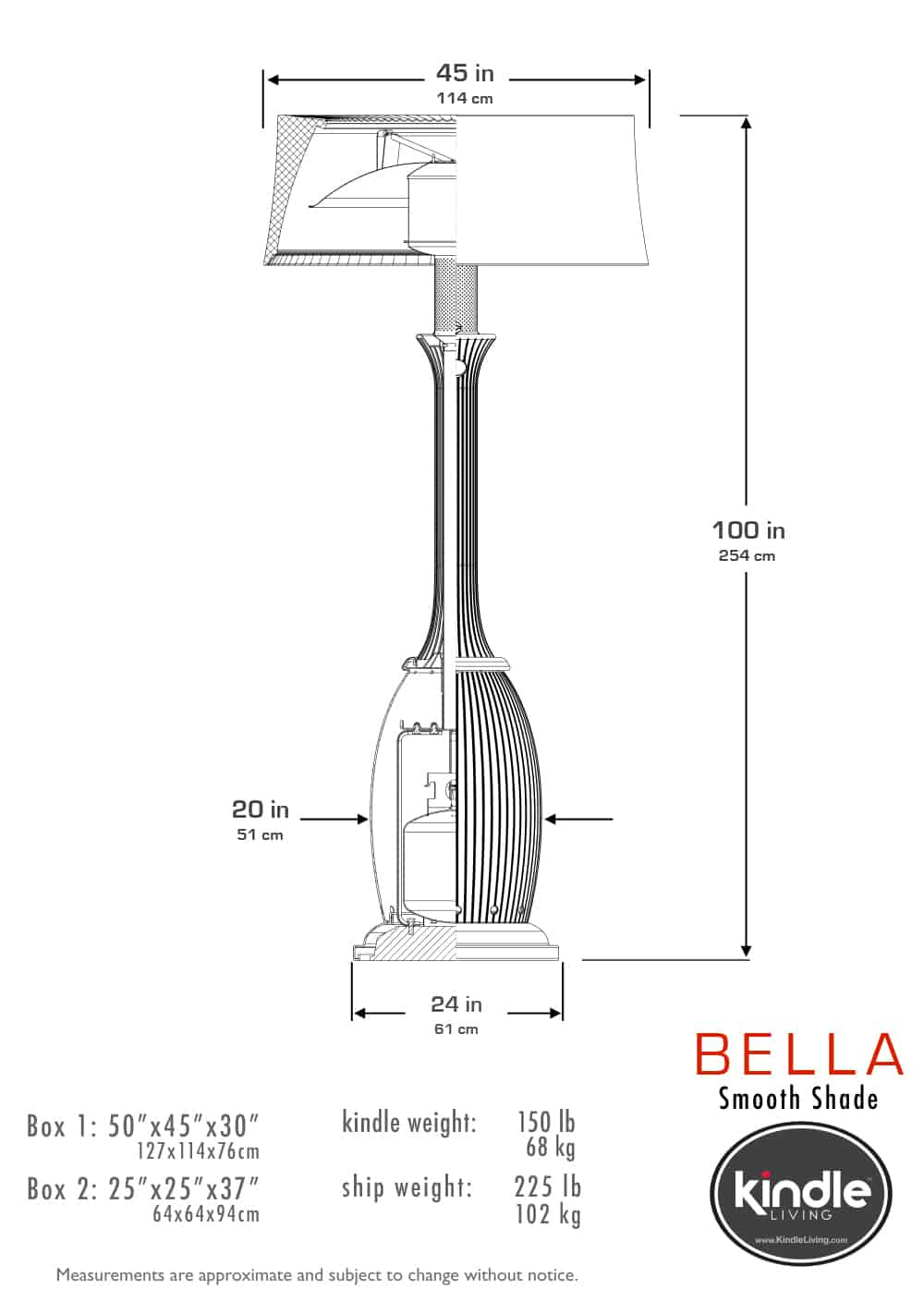 Design Accents Heater Diagram Detailed Wiring Diagrams For A Kindle Bella Los Angeles Designers Of Giant Decorative Heaters Lamps Ford Aside From