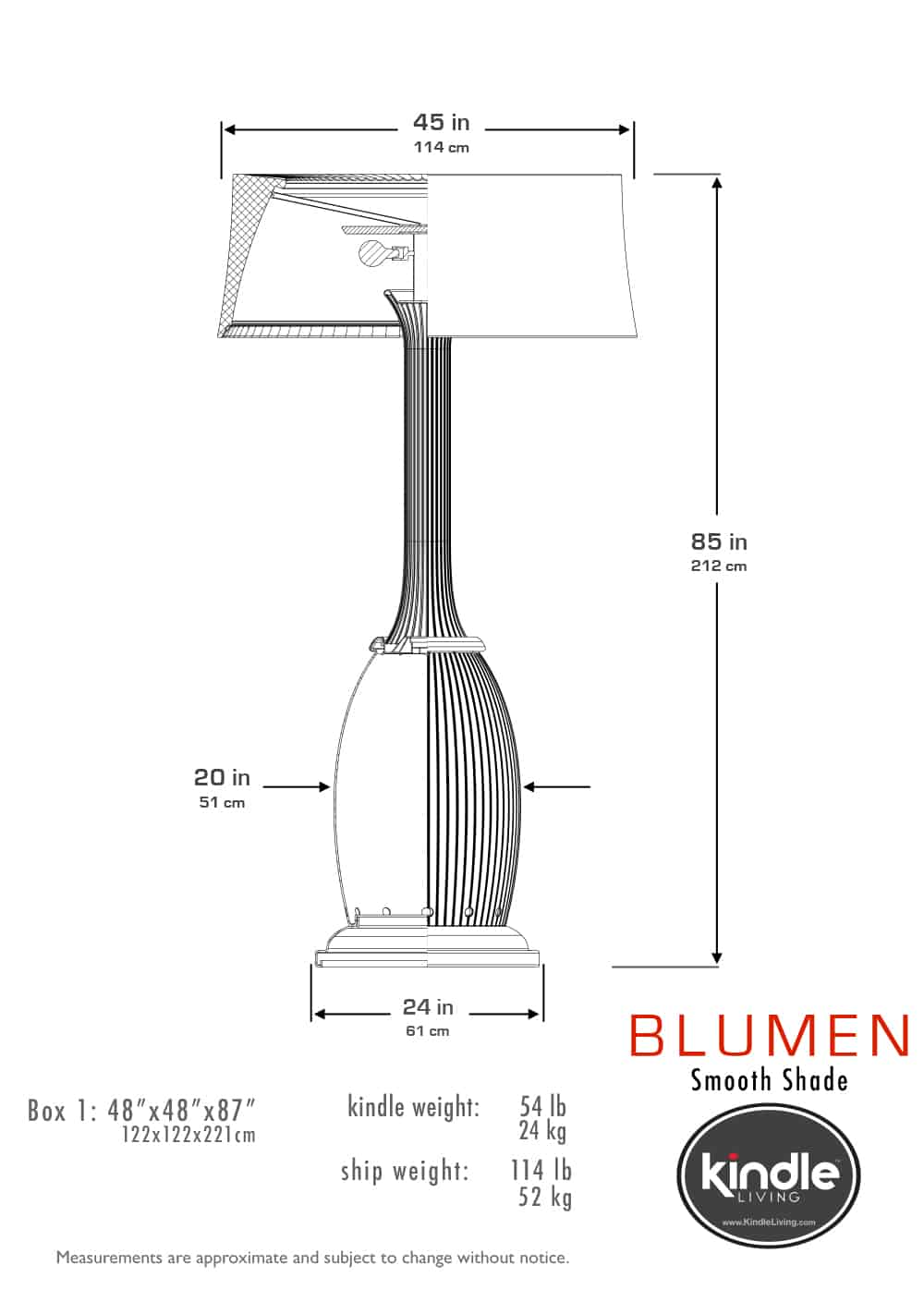Blumen - Los Angeles Designers of Giant Decorative Heaters & Lamps